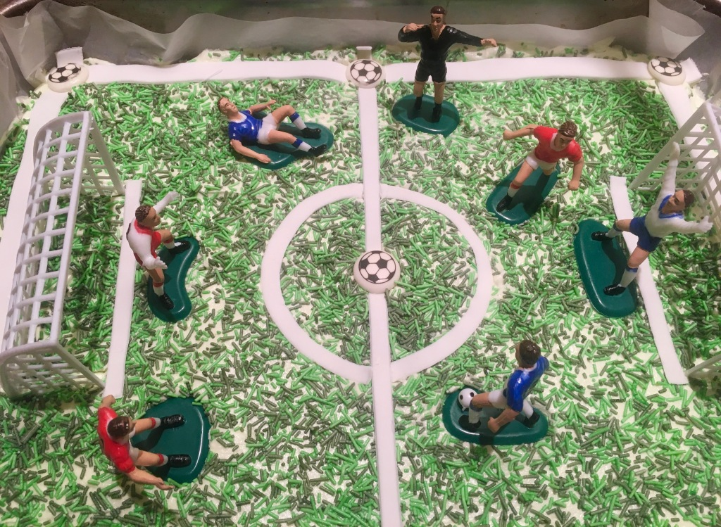Football Cake Decoration